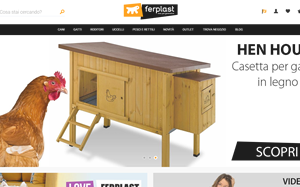 Visita lo shopping online di Ferplast pet generation