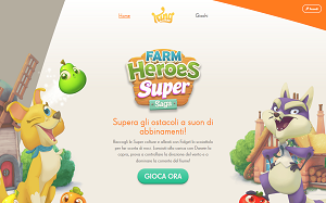 Visita lo shopping online di King.com