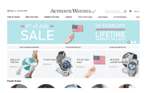 Visita lo shopping online di Authentic Watches