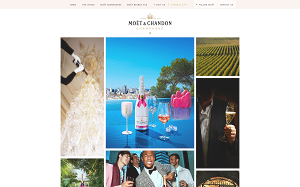 Visita lo shopping online di Moet & Chandon