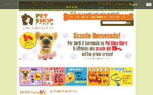 Visita lo shopping online di Pet Shop Store