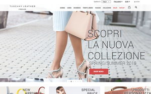 Visita lo shopping online di Tuscany Leather