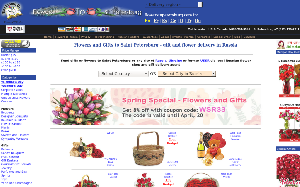 Visita lo shopping online di Flowers to Petersburg