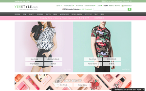 Visita lo shopping online di Yesstyle