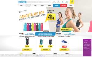 Visita lo shopping online di Decathlon
