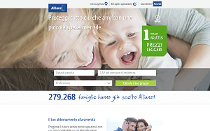 Visita lo shopping online di Allianz1