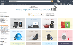 Visita lo shopping online di Amazon warehousedeals