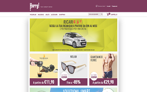 Visita lo shopping online di Hurry