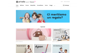 Visita lo shopping online di Privalia