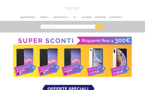 Visita lo shopping online di Tiger Shop
