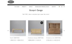 Offerta sconto 17 coupon cargo milano for Cargo mobili milano