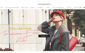 Visita lo shopping online di Marks and Angels