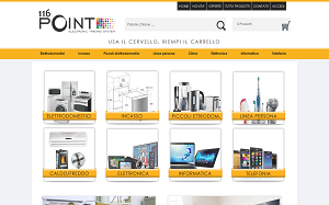 Visita lo shopping online di 116Point