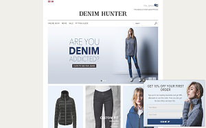 Visita lo shopping online di Denim Hunter
