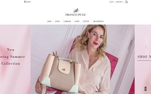 Visita lo shopping online di Franco Pugi Handbags