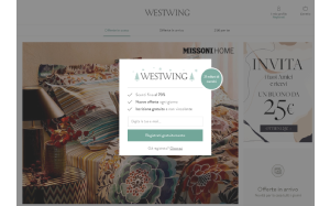 Visita lo shopping online di Westwing