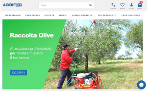 Visita lo shopping online di Agrifer