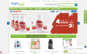 Visita lo shopping online di WeightWorld