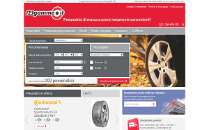 Visita lo shopping online di 123gomme.it