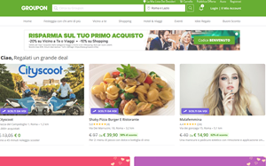Visita lo shopping online di Groupon