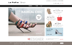 Visita lo shopping online di Le Follie Shop
