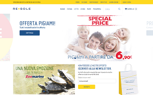 Visita lo shopping online di ReSole