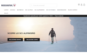 Visita lo shopping online di ROSSIGNOL equipment