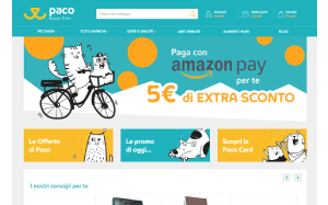 Visita lo shopping online di Paco Pet Shop