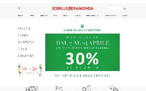 reputable site e59c4 ee3ce Esclusivo Codice Sconto Sorelle Ramonda Shop Settembre 2019